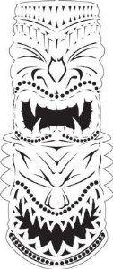 Hawaiian Warrior mask - Google 검색
