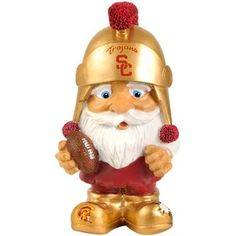 USC Trojans Mad Hatter Gnome...this little guy is soooooo cute!