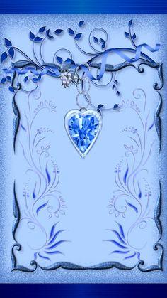 Heart Iphone Wallpaper, Bling Wallpaper, Luxury Wallpaper, Cellphone Wallpaper, Wallpaper Ideas, Wallpaper Backgrounds, Blue Wallpapers, Pretty Wallpapers, Iphone Wallpapers