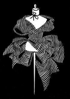 "© Maria Barbaro ""Catherine"". Linoleum print. www.mariabarbaro.com/"