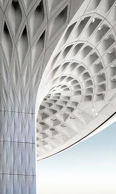 Aeropuerto Internacional Chhatrapati Shivaji - Terminal 2,© SOM