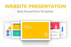Website Presentation Template is a Flexible, clean, simple, and unique PowerPoint Template. All elements easy to edit and you can easily change the color to match it with your personal or company brand