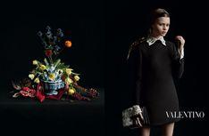 Wednesday Addams, by Valentino autumn winter 2013