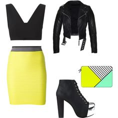 A fashion look from November 2015 featuring T By Alexander Wang tops, Alexander Wang mini skirts and Jeffrey Campbell ankle booties. Browse and shop related lo…