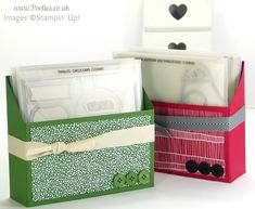 Large Thinlits Die Holder Tutorial from Stampin' Up! UK Demo Pootles
