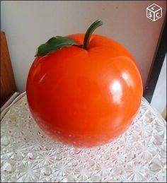 Seau glaçon pomme vintage