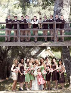 Guys & Girls Attire..from my daughter's wedding.  Guy's outfits all from Old Navy.  :)