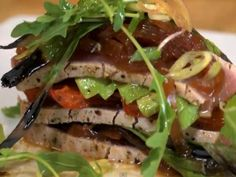 Seared Ahi Tuna with Avocado and Ponzu Vinaigrette Recipe Video by ChefBillyParisi Yummy Treats, Yummy Food, Seared Ahi, Tuna Avocado, Fish Dishes, Food Videos, Healthy Recipes, Healthy Food, Seafood
