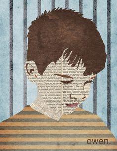Collage Portraits by Eleni Hannula, via Behance