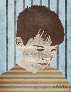 Collage Portraits by Eleni Hannula, via Behance