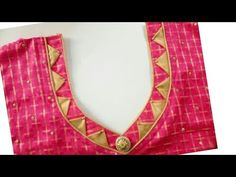 Very beautiful designer neckline cutting and stitching Patch Work Blouse Designs, Simple Blouse Designs, Saree Blouse Neck Designs, Kurti Neck Designs, Churidhar Neck Designs, Neckline Designs, Dress Neck Designs, Beautiful, Fashion Blouses