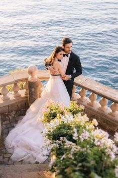 Sexy Amalfi Coast Wedding Inspiration with a Red Dress – Villa Astor in Sorrento Italy – Vangelis Photography 50