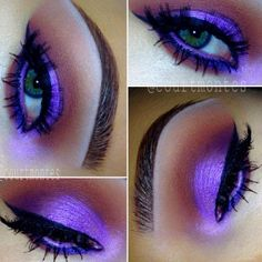 .@courtmontes   Purple Haze #EyeOfTheDay Brows: @anastasiabeverlyhills New Dipbrow Pomade in ...   Webstagram