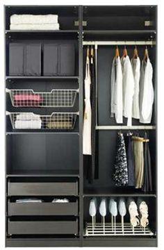 Organizzare l'armadio IKEA