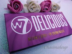 Preciosa paleta Delicious de W7!