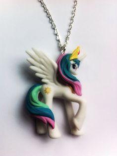 My Little Pony Princess Necklace Celestia by OneHundredNinetySix