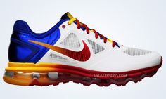 Manny Pacquiao x Nike Air Trainer 1.3 Max. See the rest of the photos. Its very cool