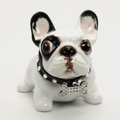 CUSTOM PAINT  Piggy Bank  French Bulldog