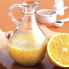 Equal parts extra extra virgin olive oil and Bragg's apple cider vinegar. Add a splash of crushed garlic, lemon, orange, honey, pink himalayan salt, and pepper. Also ginger or basil would be a nice addition. Shake well. Use as a super food dressing or marinade! So Delicious!