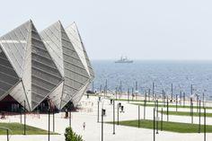 Baku Crystal Hall by gmp Architekten