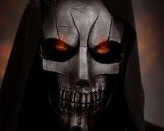 Darksiders II Handgefertigt & Farbe Fiberglas-Maske. Mit der ersten Schicht Gelcoat für mehr Kraft der Maske. AUF DEM ERSTEN BILD SIND NUR MEIN AUGE FOTOMONTAGEN
