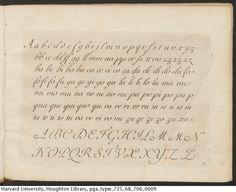 Polanzani, Francesco, 1700- La penna da scrivere all' uso corrente, [1768?]  TypW 725.68.706  Houghton Library, Harvard University Houghton Library