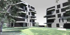 Byfjordparken med nettsider i RWD-løsning. Responsive Web Design, Multi Story Building