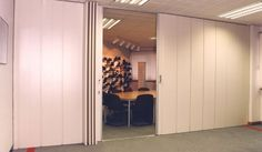 Versiplan | Concertina Partitions | Products | Becker Sliding Partitions