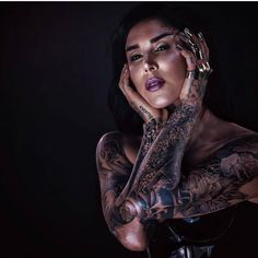 """795 Likes, 3 Comments - Kat Von D World (@katvondworld) on Instagram: """"I almost didn't recognize you for a second! @thekatvond Makeup by @sstrazzere photo by…"""""""