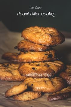 Low Carb Peanut Butter Cookies | healthy soulfood