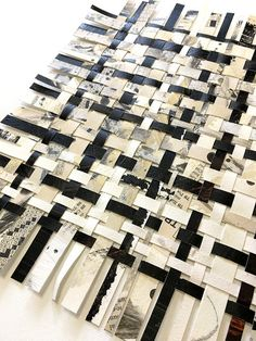 Most recent Pics weaving art abstract Suggestions Crossword Weaving Art Puzzle Art Abstract Art Woven image 2 Paper Weaving, Weaving Art, Fabric Weaving, Woven Fabric, Design Textile, Textile Art, Textiles Techniques, Art Techniques, Woven Image