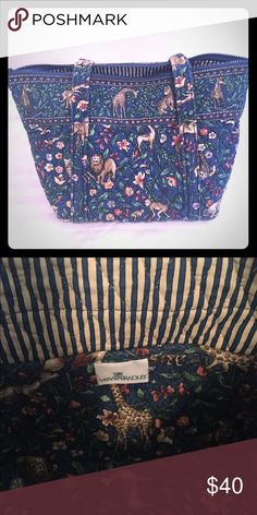 Vintage Vera Bradley Tote Retired, rare pattern. No rips, stains or tears. Good condition. Vera Bradley Bags Totes
