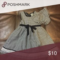 Children's Place Houndstooth Dress & Diaper Cover Excellent Used Condition 💥Firm Price💥 Dresses Formal