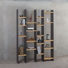 Bookcase Wall, Bookshelf Design, Bookshelves, Living Room Designs, Living Room Decor, Closet Storage, Storage Cabinets, Office Interiors, Grande