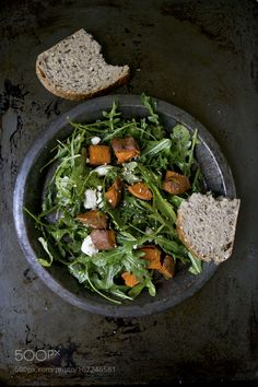 Sweet Potato Salad by carolinetzhang #food #yummy #foodie #delicious #photooftheday #amazing #picoftheday