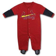 St. Louis Cardinals Infant Sports Shoe Sleeper