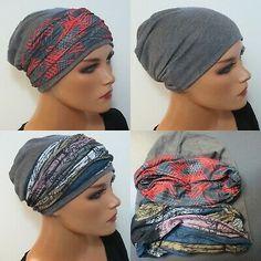 chemomütze Alopécie Soft Cap Bandeau Bandana foulard sans Lier