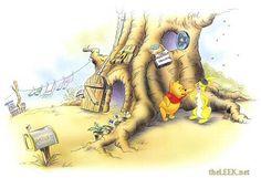 rabbits garden pooh - Google Search