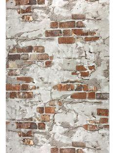 5583-13 Orange Red Brown Brick Rustic Wall Wallpaper – wallcoveringsmart Brick Wallpaper, Vinyl Wallpaper, Wallpaper Roll, Wallpaper Backgrounds, Painted Brick Walls, Old Brick Wall, Faux Brick Walls, Brick Texture, 3d Texture