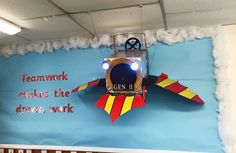 Kirsty teamed up with her TA to make this AMAZING Chitty Chitty Bang Bang display! They're going to use it for PSHE and new class work on the importance of teamwork