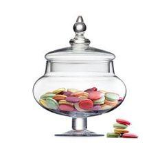 Glass Candy Jar - Short | Kmart