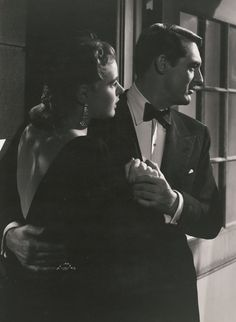 Ingrid Bergman and Cary Grant in Notoious, 1946