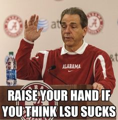 ALABAMA FOOTBALL! Roll Tide Roll! Nick Saban
