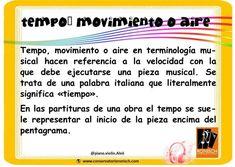 Event Ticket, Italian Words, Conservatory, Sheet Music