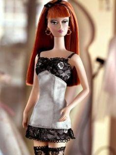 Barbie Silkstone Lingerie Fashion Model #6 Redhead - Barbie Doll by Barbie. $78.87. Silkstone Barbie. #6 in series. Fashion Model. Silkstone Lingerie Fashion Model Barbie. #6 in Lingerie line by Robert Best.