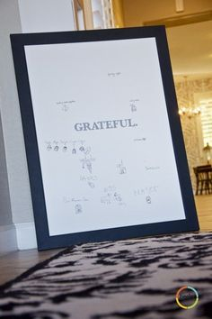 becky higgins gratitude poster - Google Search
