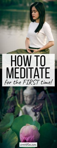 Meditation for Beginners - How to Meditate for the First Time. Increase mindfulness, decrease anxiety, and improve your overall mental health this this easy, guided meditation technique. Great for yoga lovers! Zen Meditation, Meditation For Health, Walking Meditation, Meditation For Beginners, Meditation Benefits, Meditation Techniques, Chakra Meditation, Meditation Practices, Yoga Benefits
