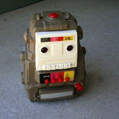 Vintage 1978 Mego 2Xl Talking Robot Toy 8 Track by ChompMonster, $29.00