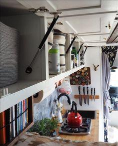 Overhead storage....