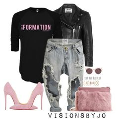 """""""Untitled #1518"""" by visionsbyjo ❤ liked on Polyvore featuring Acne Studios, INC International Concepts, Ted Baker, Christian Louboutin, Christian Dior, Accessorize, Maison Margiela, women's clothing, women and female"""